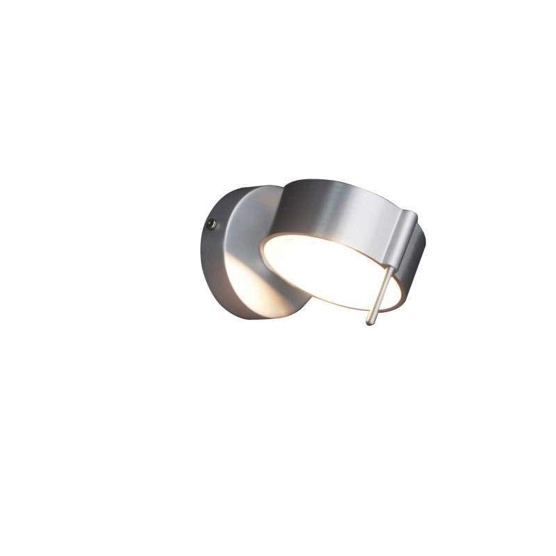 Wandlamp Eye 1 aluminium