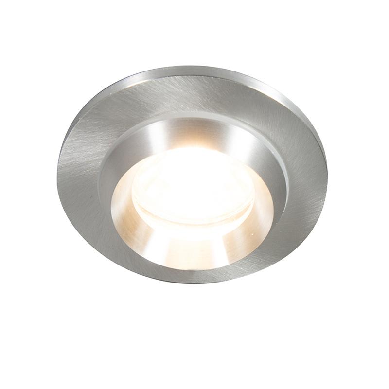 Nowoczesna oprawa do wbudowania aluminium IP54 - Spa