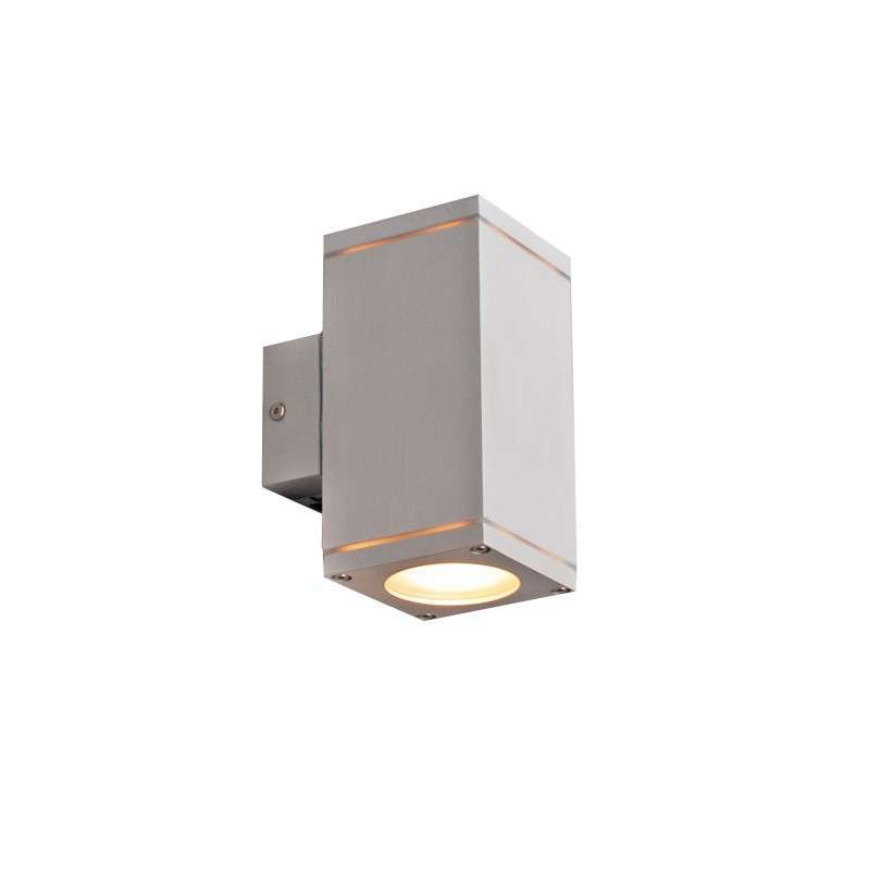 Buitenlamp Quadro up-down aluminium