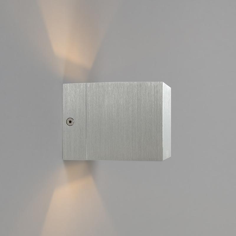 Moderne wandlamp aluminium – Transfer
