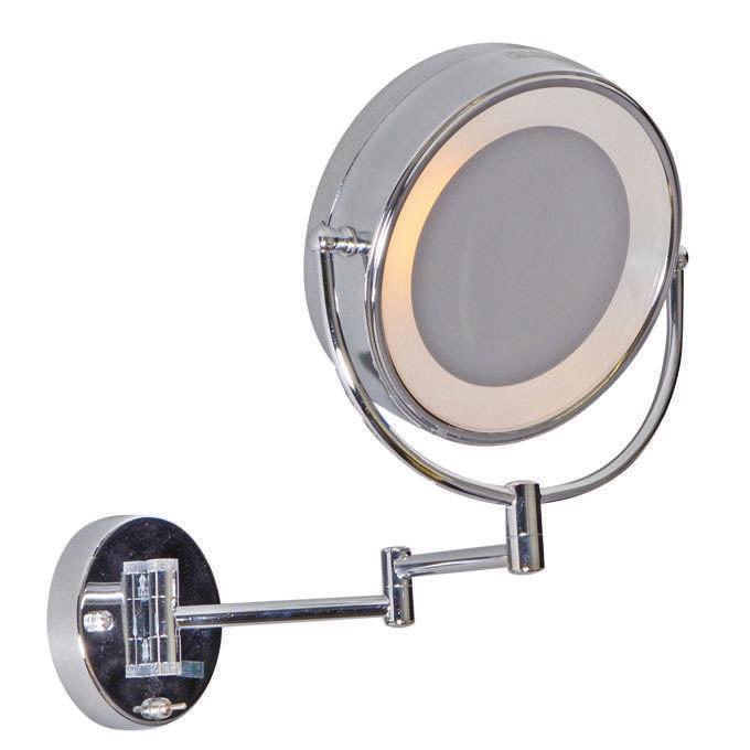 Scheer- make up spiegel wand