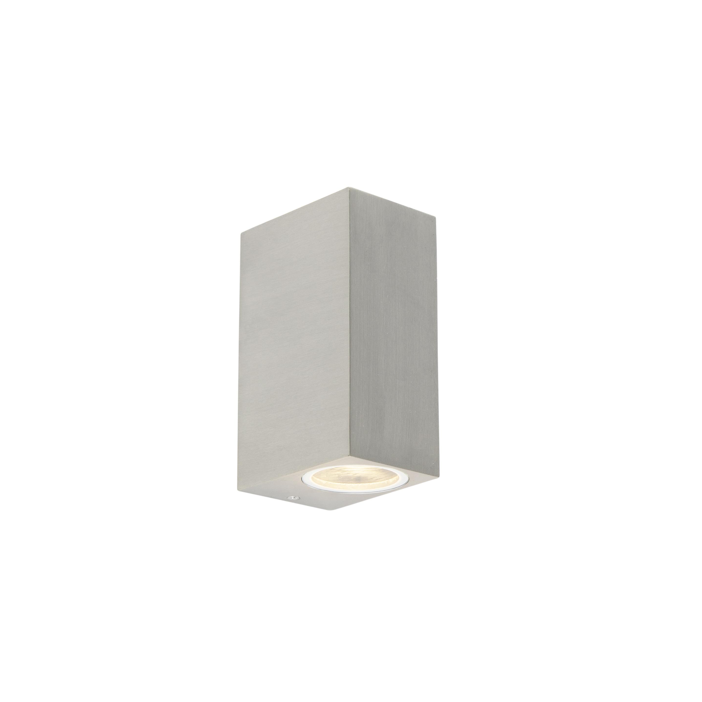 Set van 2 moderne wandlampen aluminium IP44 - Baleno II
