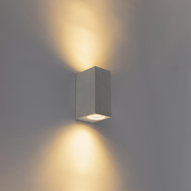 Moderne buiten wandlamp staal - Baleno II