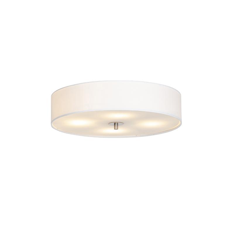 Klasyczny plafon biały 50cm - Drum