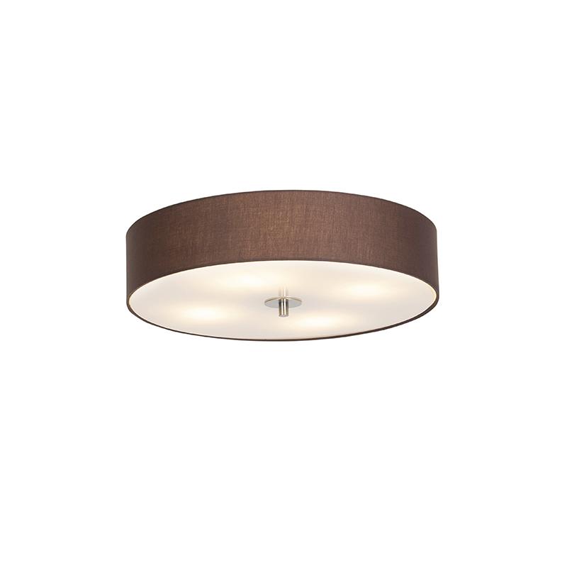 Klasyczny plafon brązowy 50cm - Drum