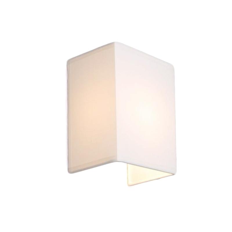 Landelijke Wandlamp Wit - Vete