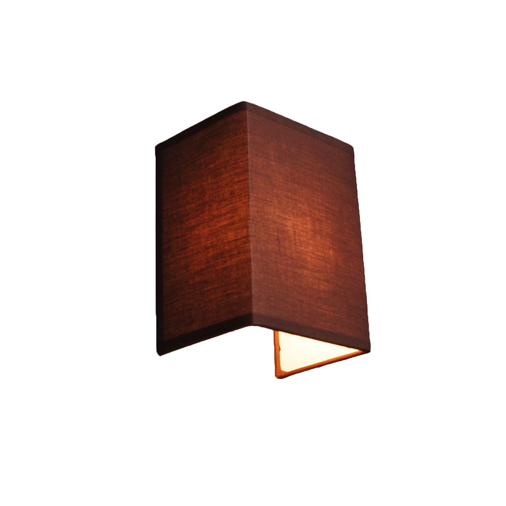 Landelijke wandlamp bruin - Vete