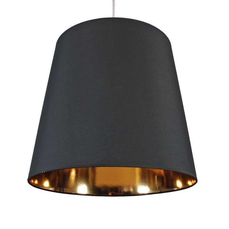 Hanglamp Shade zwart goud