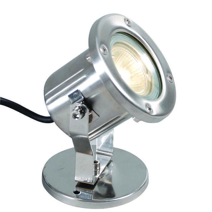 Image of RVS onderwater vijverlamp