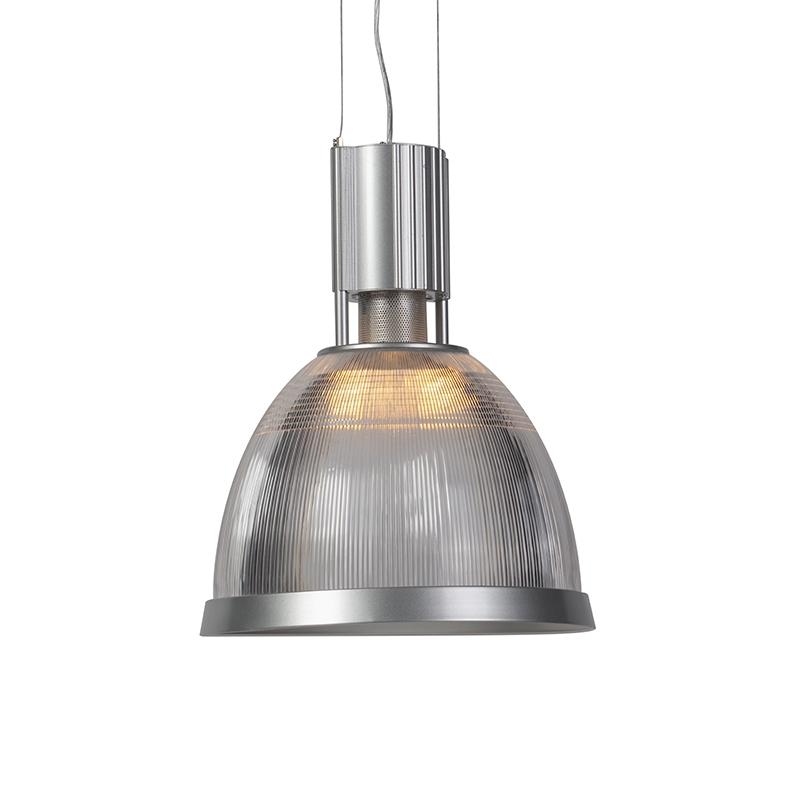 Przemysłowa lampa wisząca aluminiowa - obręcz przemysłowa