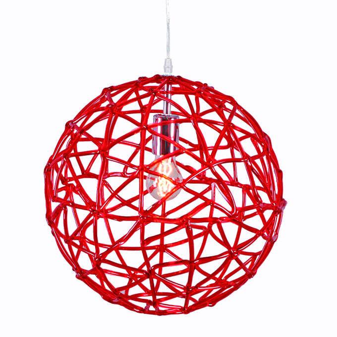 Hanglamp Birdy 40 rood