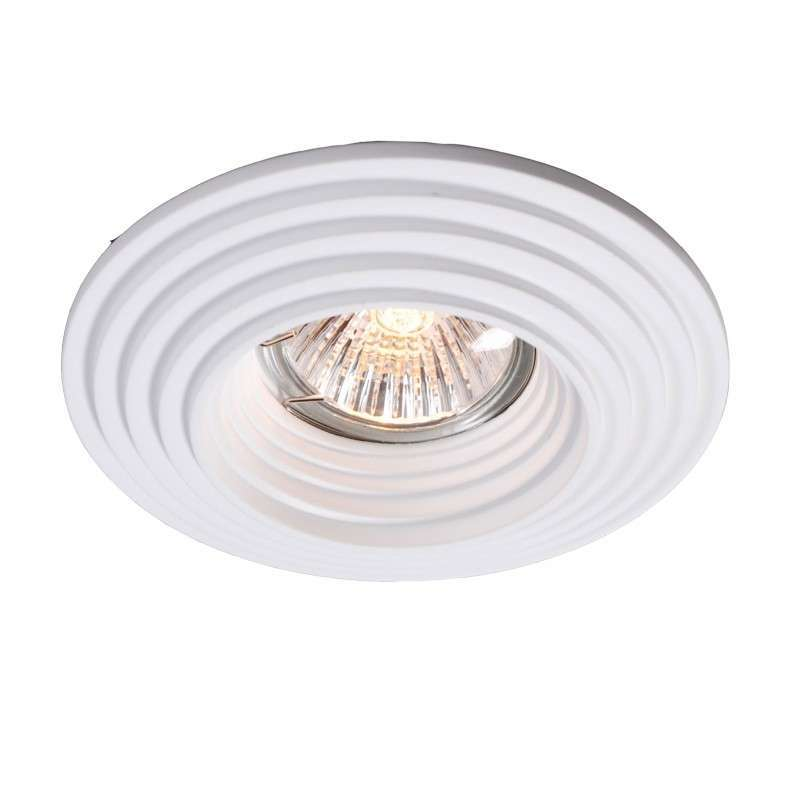 Inbouwspot Gipsy Round Groove