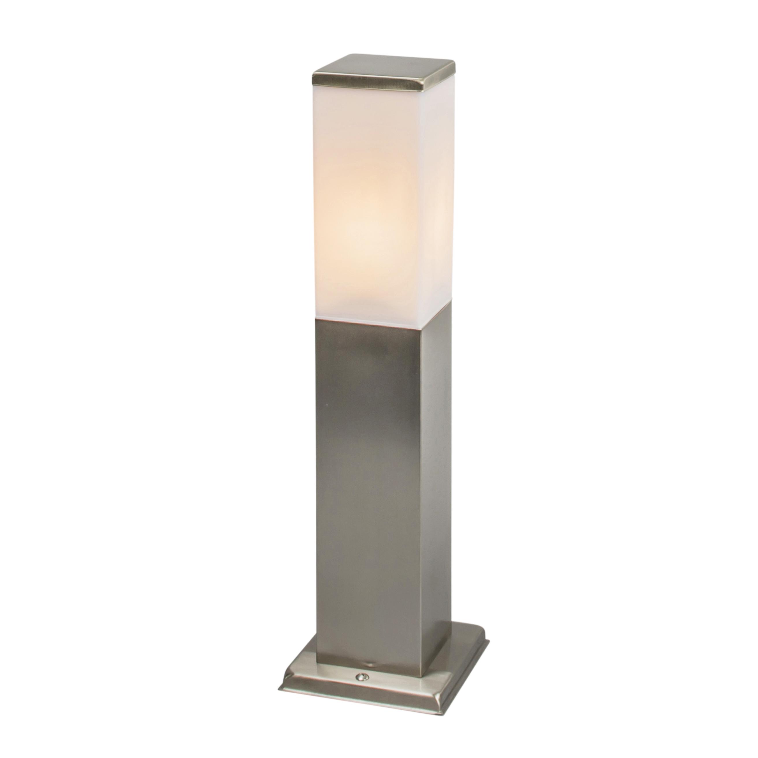 Moderne buitenlamp 45 cm staal - Malios