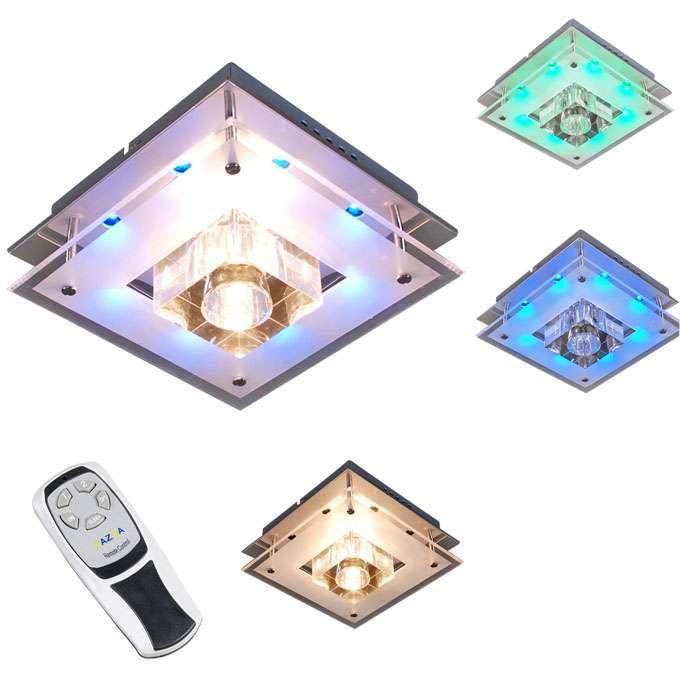 Plafonniere Ilumi 1 vierkant LED