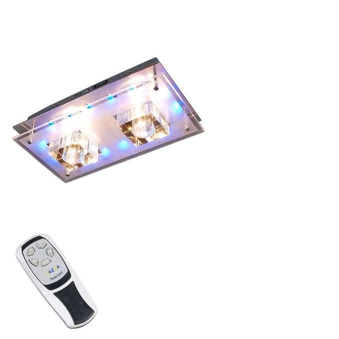 Plafonniere Ilumi 2 rechthoek LED