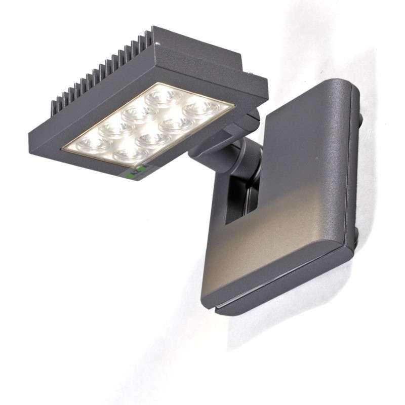 Opton Flood Light grafiet met warm witte LED