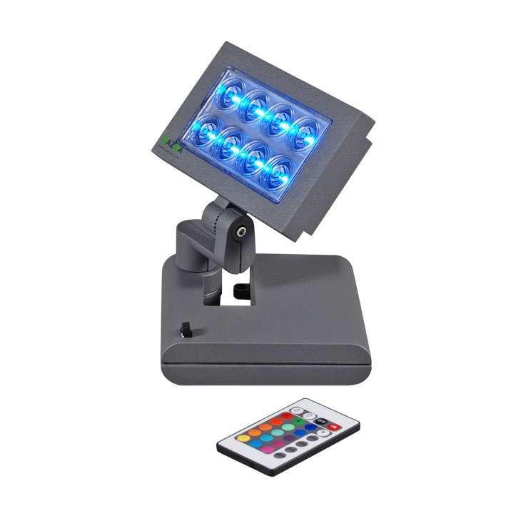 Opton Flood Light grafiet met RGB LED