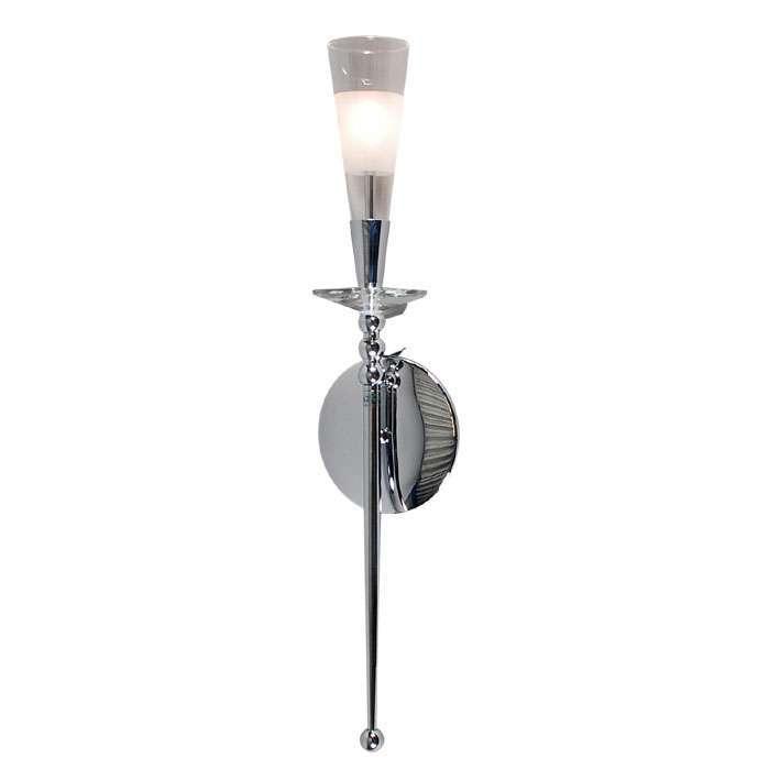 Wandlamp Abby 1 chroom