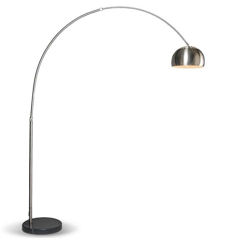 Moderne booglamp staal verstelbaar - Grande