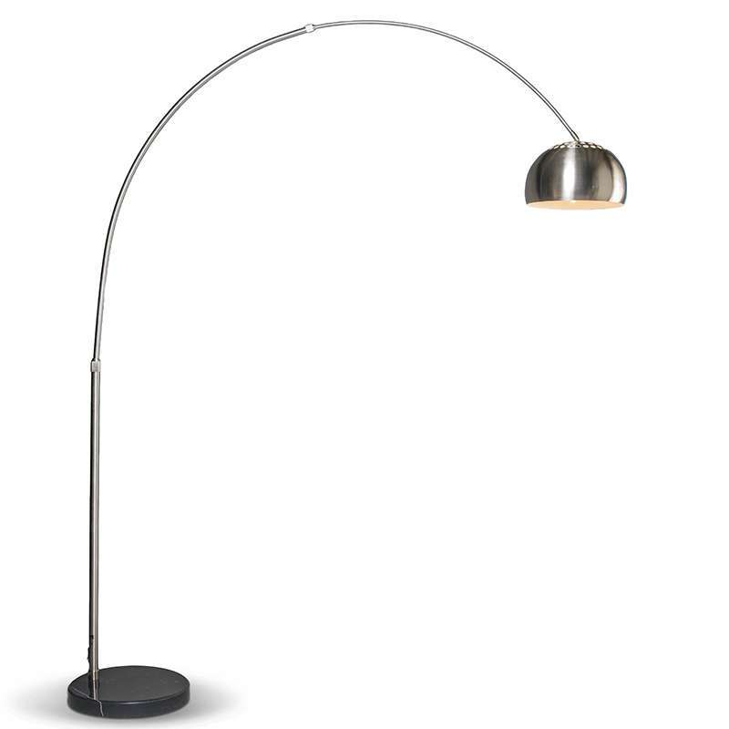 Moderne booglamp staal Grande