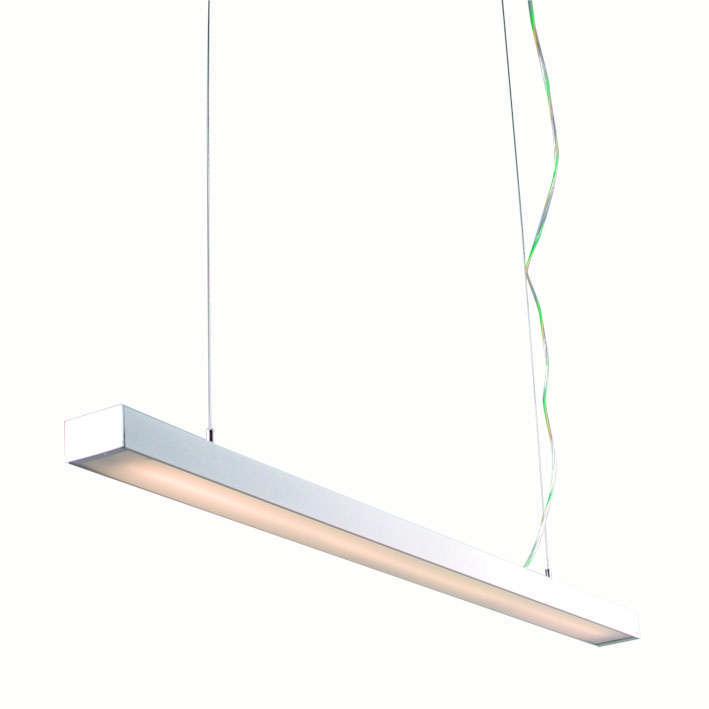 Hanglamp Tube Q wit 28W
