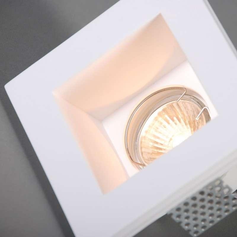 Inbouwspot Gipsy Zero mini vierkant