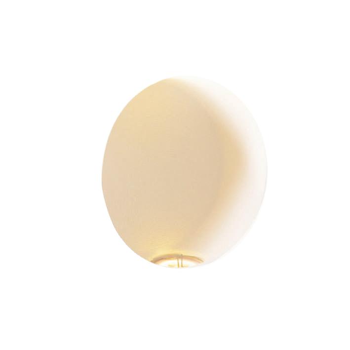 Wandlamp Zero rond LED inbouw