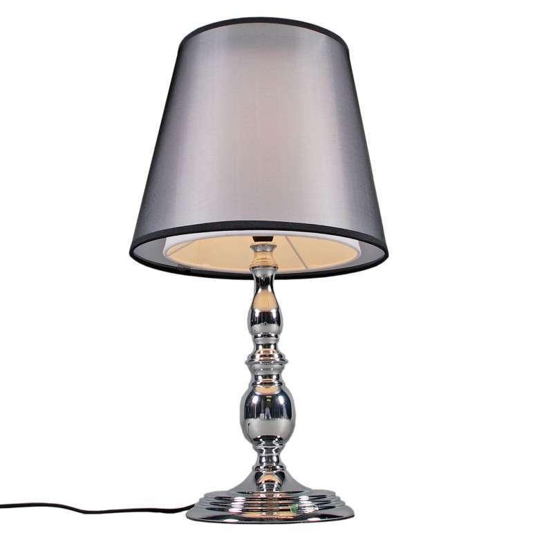 Tafellamp Mythos chroom met kap