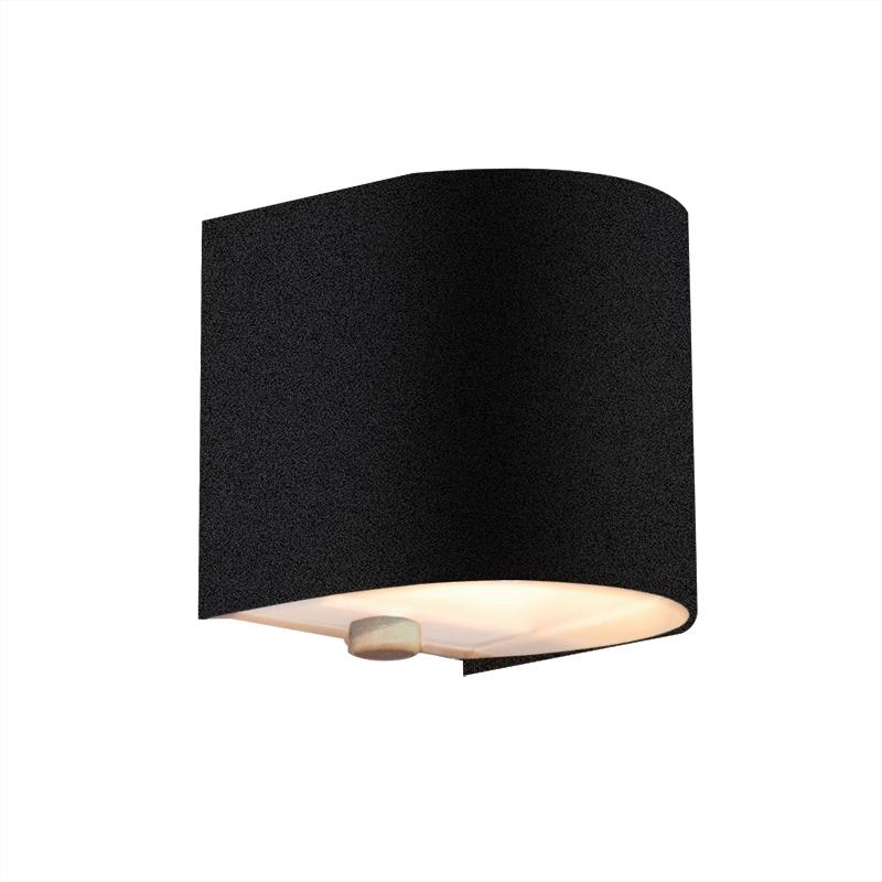 Wandlamp Torci zwart