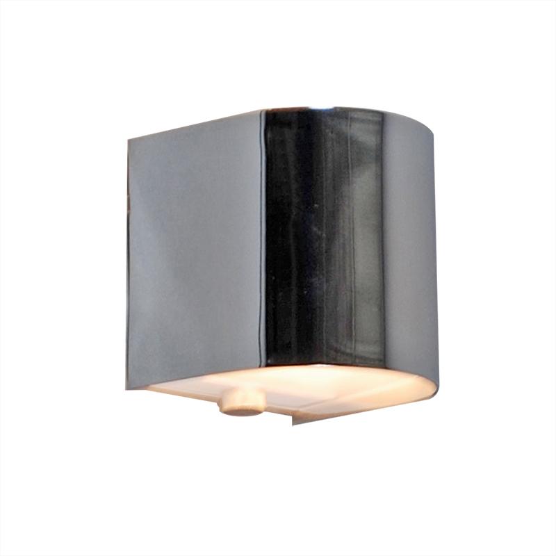 Wandlamp Torci chroom