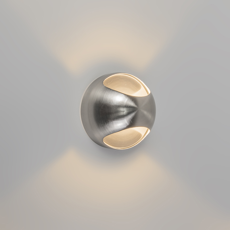 Wandlamp OJO staal
