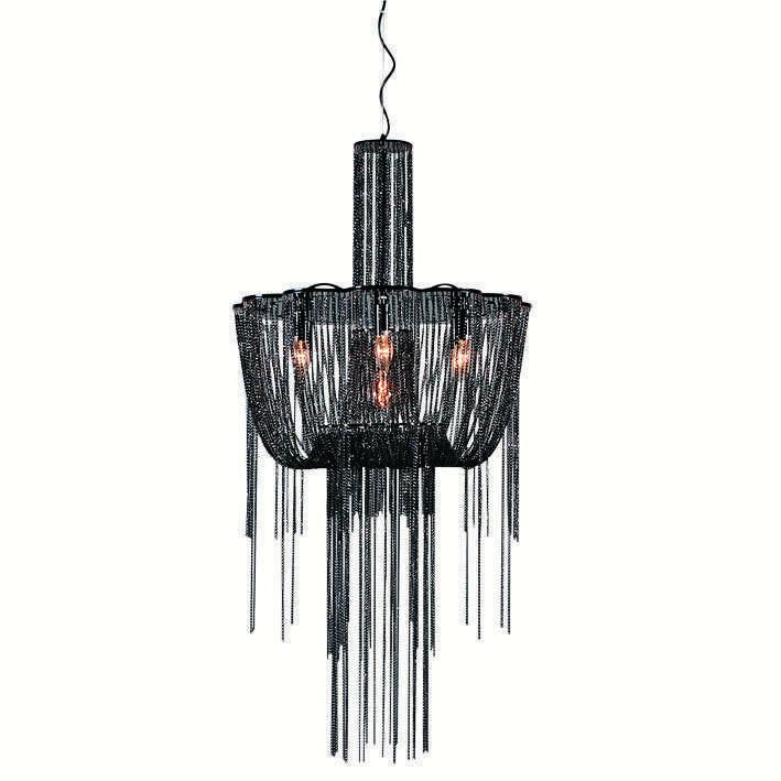 Hanglamp Abbegail 60 zwart