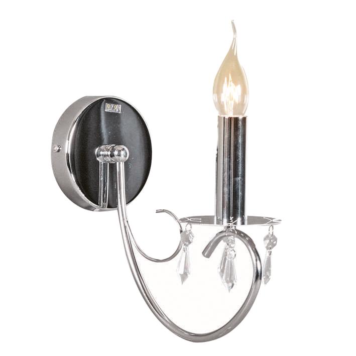 Wandlamp Lecler 1 chroom