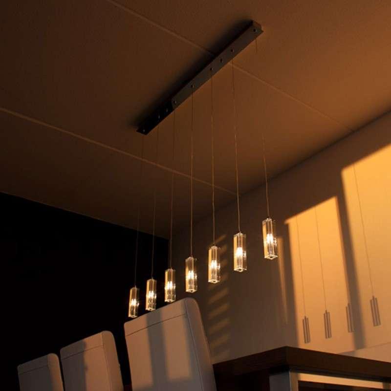 Hanglamp Ceres 7 chroom