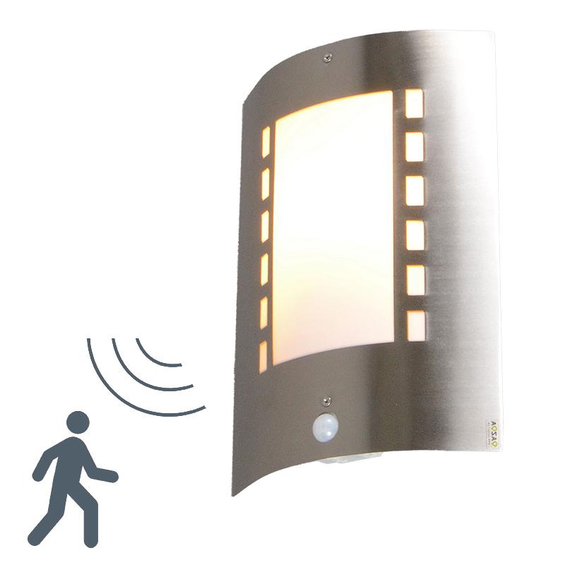 Buitenlamp Emmerald met bewegingsmelder