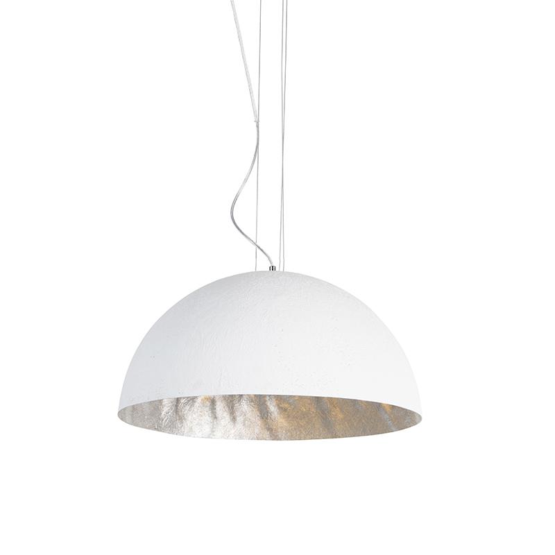 Moderne hanglamp wit 50 cm - Magna