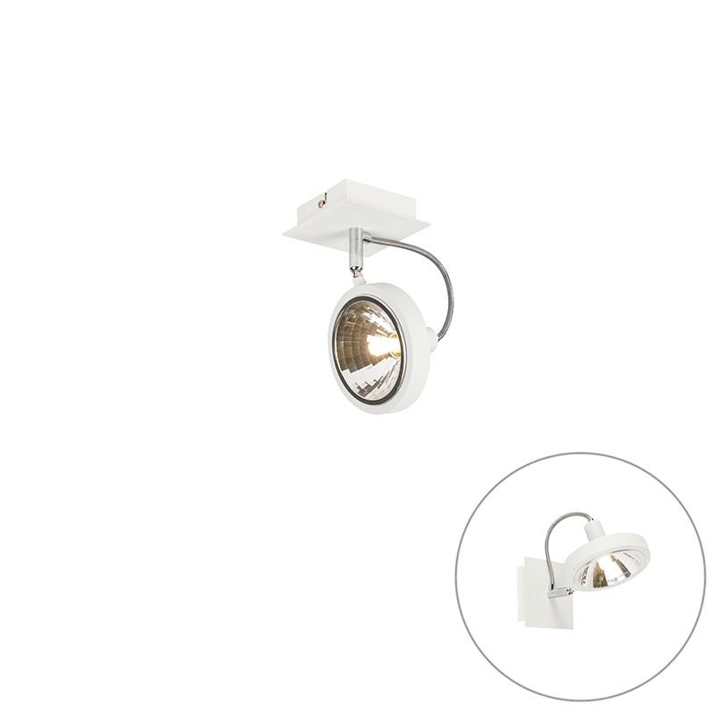 Design Spot Wit 1-lichts Verstelbaar - Nox