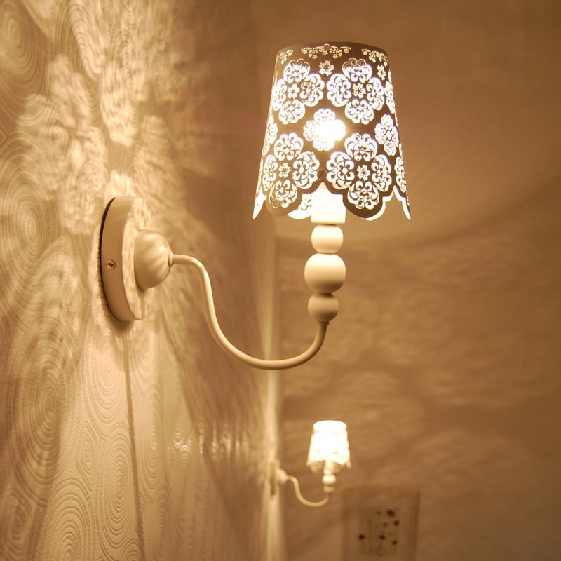Wandlamp Lace wit