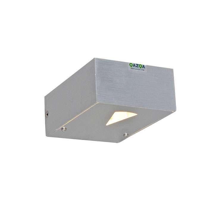 Wandlamp Hide rechthoek aluminium