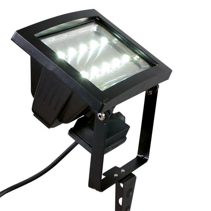 LED straler VAP 10 zwart