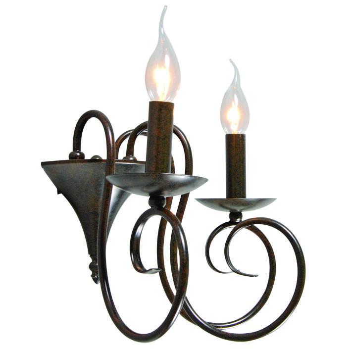 Wandlamp Romantica 2 antiek