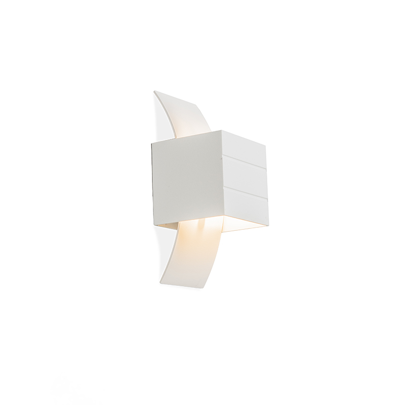Moderne wandlamp wit - Amy