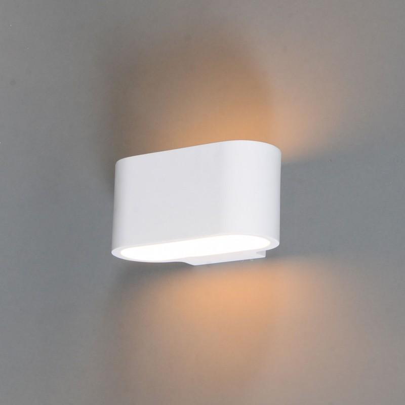 Moderne wandlamp wit plat - Gipsy Arles