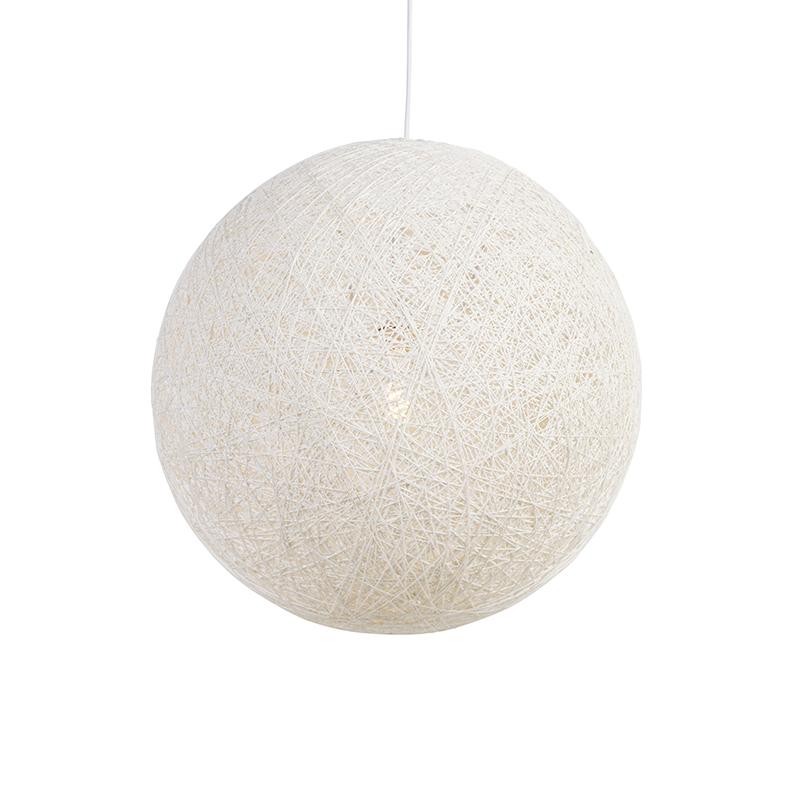 Lampa wisząca Corda 60 biała