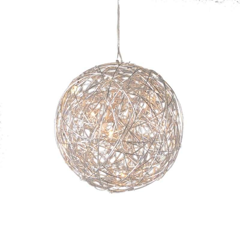 Hanglamp Draht bol 40cm aluminium