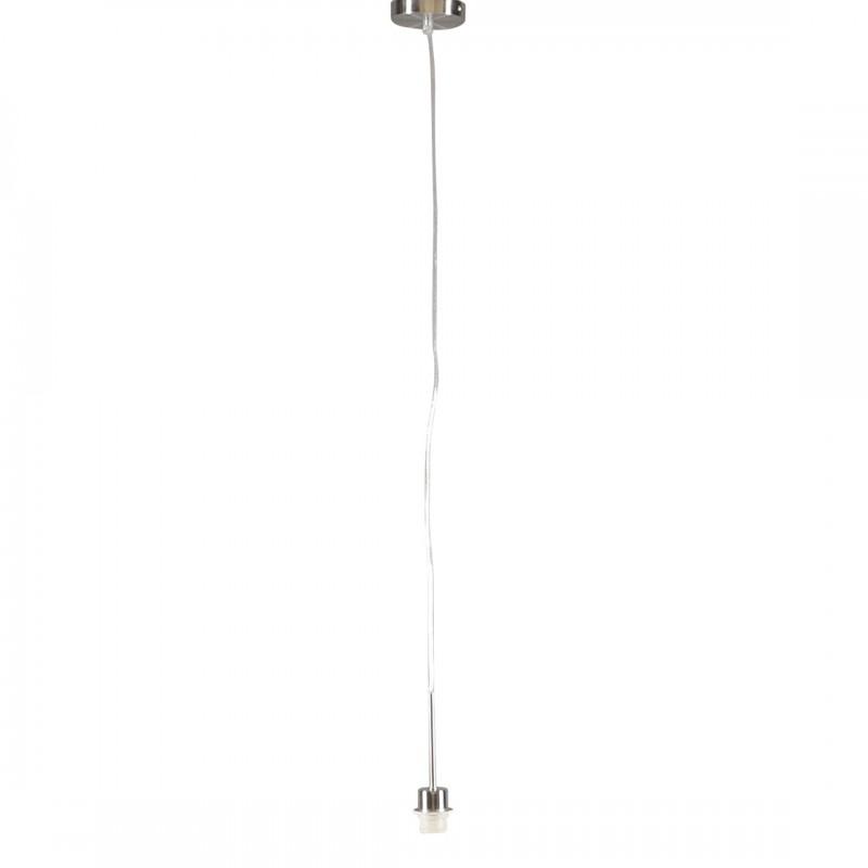 Lampa wisząca stal bez klosza - Combi 1