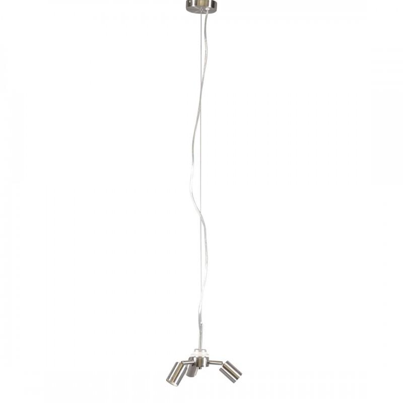Hanglamp Combi 1-3 Staal Zonder Kap