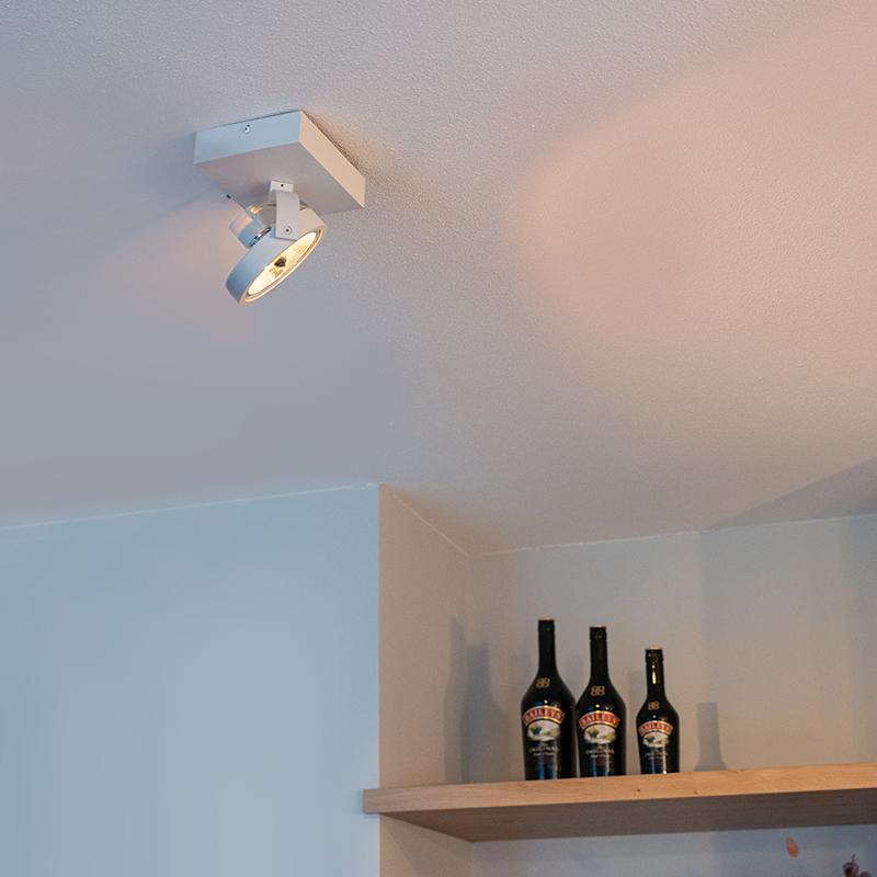 Design spot wit verstelbaar 1-lichts incl. 1 x G9 - Go