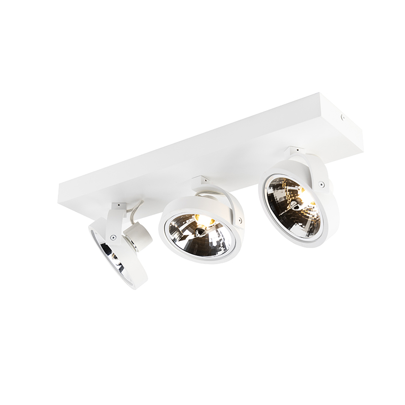 Design spot verstelbaar 3-lichts wit - Go G9