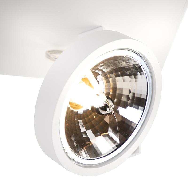 Design spot verstelbaar 3-lichts wit – Go G9